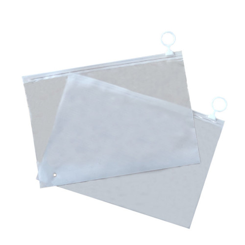 Custom Logo Printing Slide Clear / Frosted Biodegradable Zipper Packaging Plastic Bag Clothing Tshirt Poly Zip lock Bag
