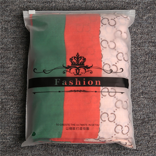 Custom Garment Zipper Packing Bag Wholesale Zip Lock Plastic Reusable Storage Bags for Clothing