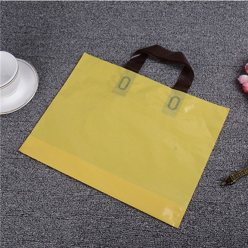 Customized 100% biodegradable and reusable logo print plastic shopping carrier bags for clothes