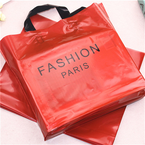 Custom Logo Printed high quality Biodegradable tote Plastic Shopping Bag