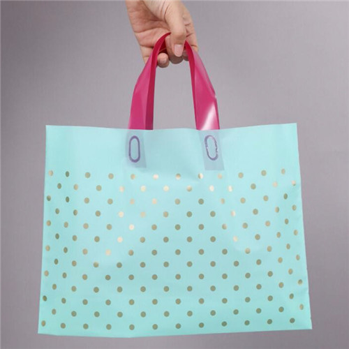 Eco-Friendly Biodegradable shopping bag plastic shopping bag with custom logo