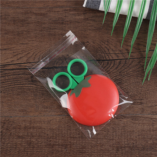 China Suppliers Custom Self-Adhesive Bags Transparent Plastic Christmas Ornament Package Bags