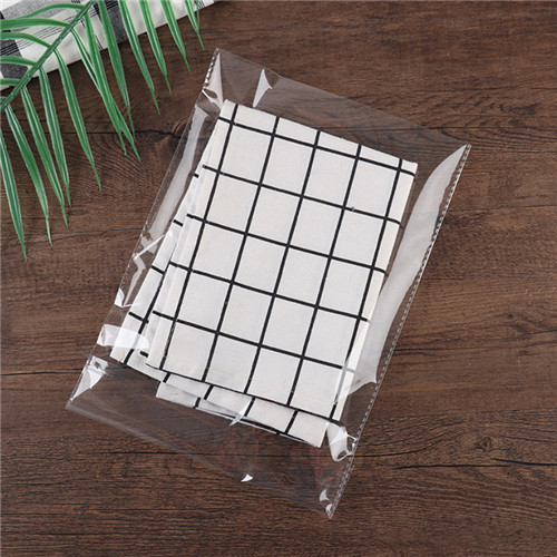 China Suppliers Wholesale Self-Adhesive Opp Bags Custom Transparent Plastic Package Bags