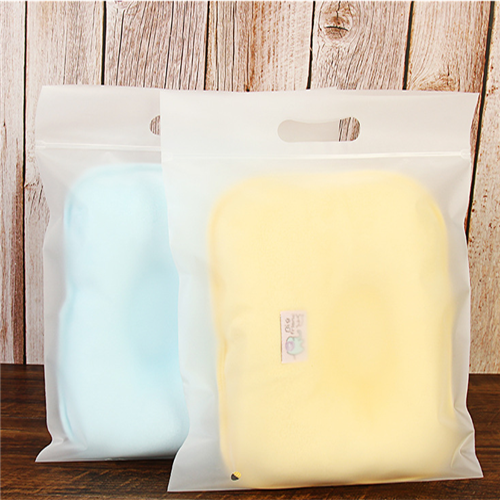 Plastic Slider Zipper Bag Manufacturer Custom Zip Clothing Packing Bags With Handle
